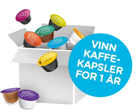 Win one year supply of coffee capsules